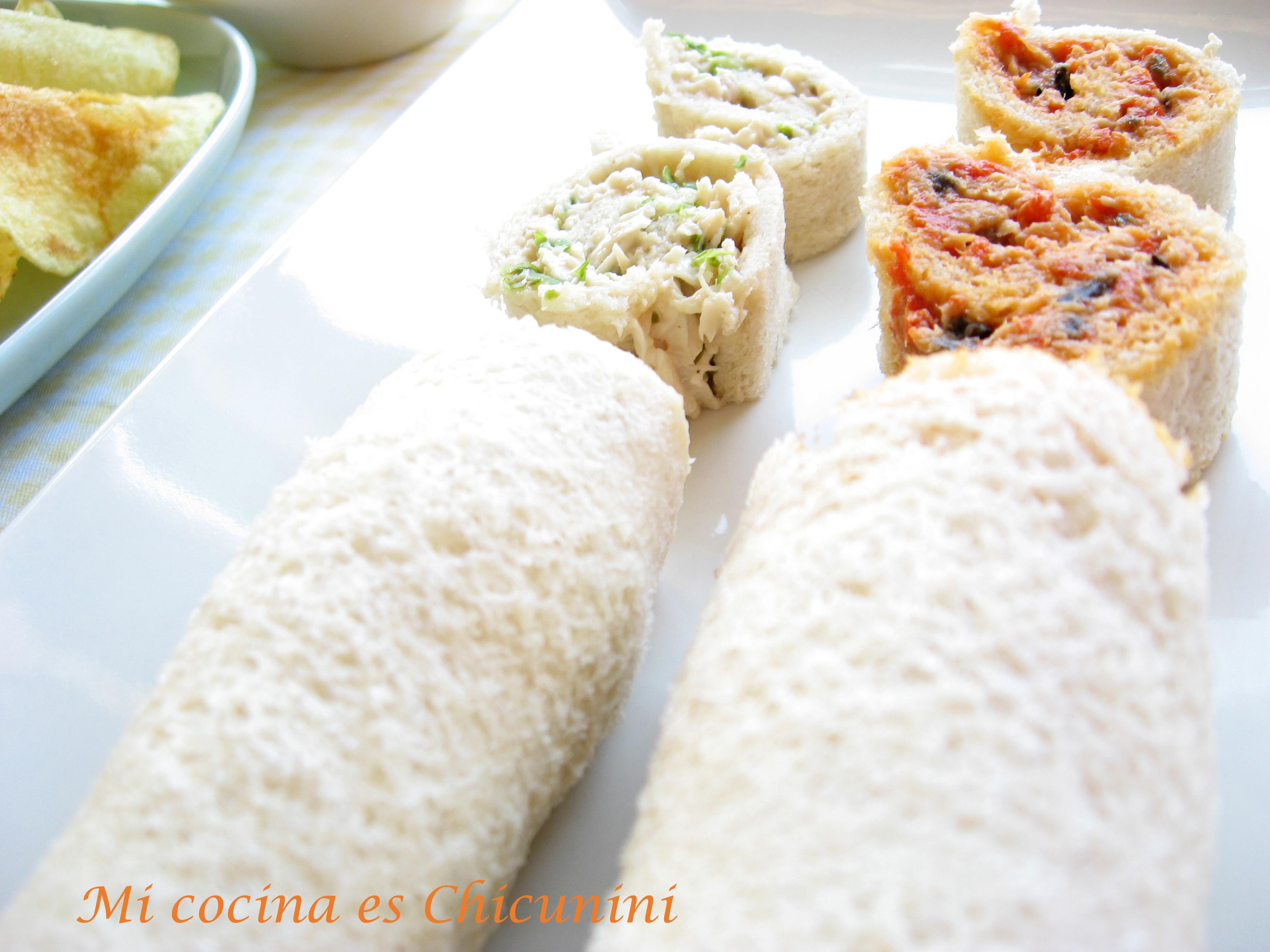 Pastas Para Relleno De Sandwich Por Chicunini La Receta