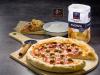 Pizza con borde relleno de queso con Gallo ®