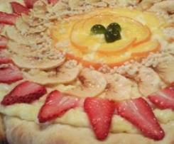 PIZZA DULCE DE FRUTAS