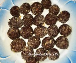 Bombones estilo Ferrero sin lactosa