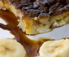 Tarta de Plátano al Caramelo