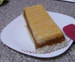 Pastel de arroz con carne