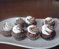 Muffins con crema de mascarpone