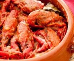 Cangrejos de rio de mamá