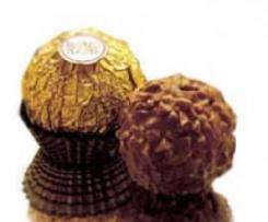 Tarta Ferrero Rocher Malen