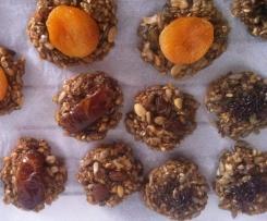 Galletas energeticas sin gluten y sin lactosa (receta mejorada)