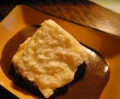 MOUSSE DE LIMON & SALSA DE CHOCOLATE