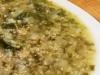 Sopa vegana de algas con mijo (sin gluten)