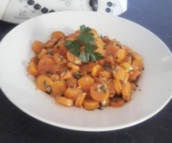 Ensalada de zanahorias estilo marroquí