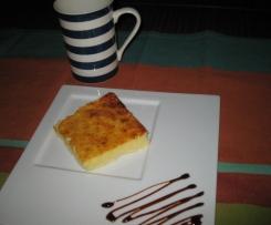 Tarta con queso de cabra