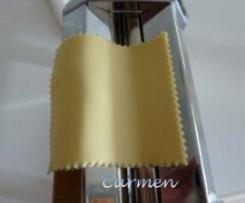 Pasta de lasaña fresca -curso celiacos-