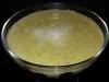 Crema de calabacín y mostaza