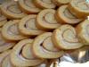 Brazo de gitano relleno de york y queso azul