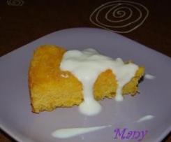 Pastel de naranja y tapioca