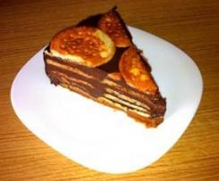 Tarta de la Abuela (Chocolate y Galletas Maria)