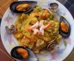 Paella Mediterranea a mi Manera