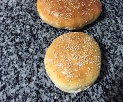 Pan de hambueguesa casero