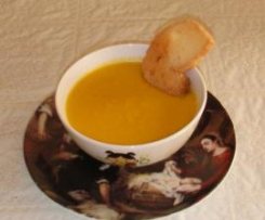 Crema de zanahorias y col