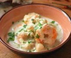 Enero-Curry de langostinos y coco