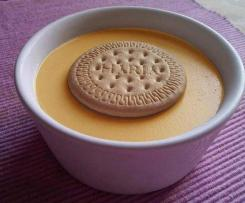 Natillas con galleta
