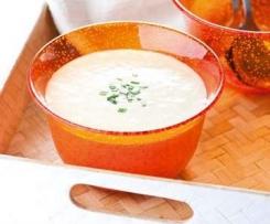 Vichyssoise (Crema fría de puerro y patata)