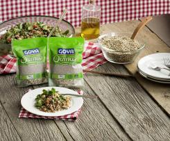 Ensalada de quinoa tricolor goya ®