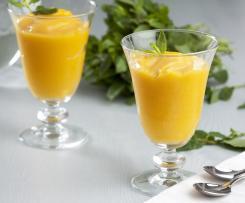 Sorbete de frutas congeladas