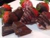 Azucarado de fresas con chocolate