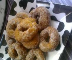 roscos de flan fritos
