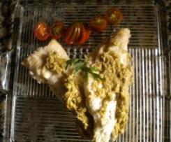 Filetes de Merluza con salsa de setas