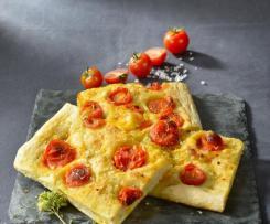 focaccia de Puglia con sal Maldon ®