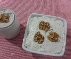 Paté asturiano de quesos y nueces