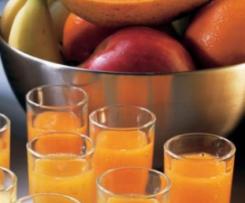 Zumo de papaya y mango