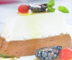 pastel de yogur y chocolate