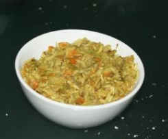 Curry ligero de verduras y arroz