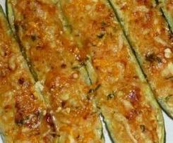 CALABACINES RELLENOS sin gluten y sin lactosa