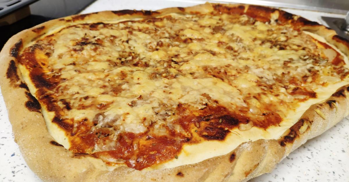 Masa Pizza Estilo Telepizza Mejorada Por Csants La Receta De Thermomix Sup Sup Se Encuentra En La Categoría Masas Y Repostería En Www Recetario Es De Thermomix Sup Sup
