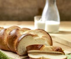 Trenza de pan de leche