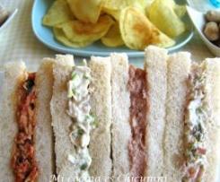 Pastas para relleno de sandwich