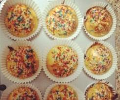 Muffins de calabaza y chispas de chocolate