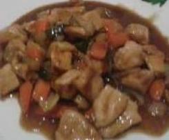 Pollo Chino con Almendra