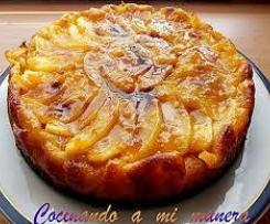 Tarta de manzanas Regi
