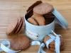 Galletas con especias y nueces pacanas