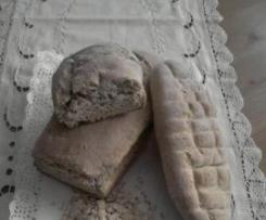 Pan de avena con leche de soja