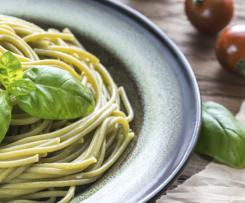 Receta Espagueti Verde