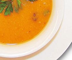 Crema de zanahoria y boniato