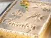 Montaje tarta libro de comunión
