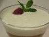 Febrero-Crema de vainilla con melocotón y yogur