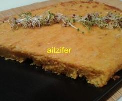 Tortilla de boniato o patata (vegana)