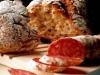 Pan de mantequilla con nueces